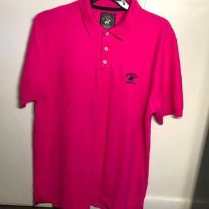 Beverly Hills pink Polo Ralph Lauren!